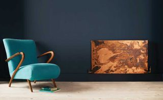 Arteplano acid-etched copper radiator by Bisque