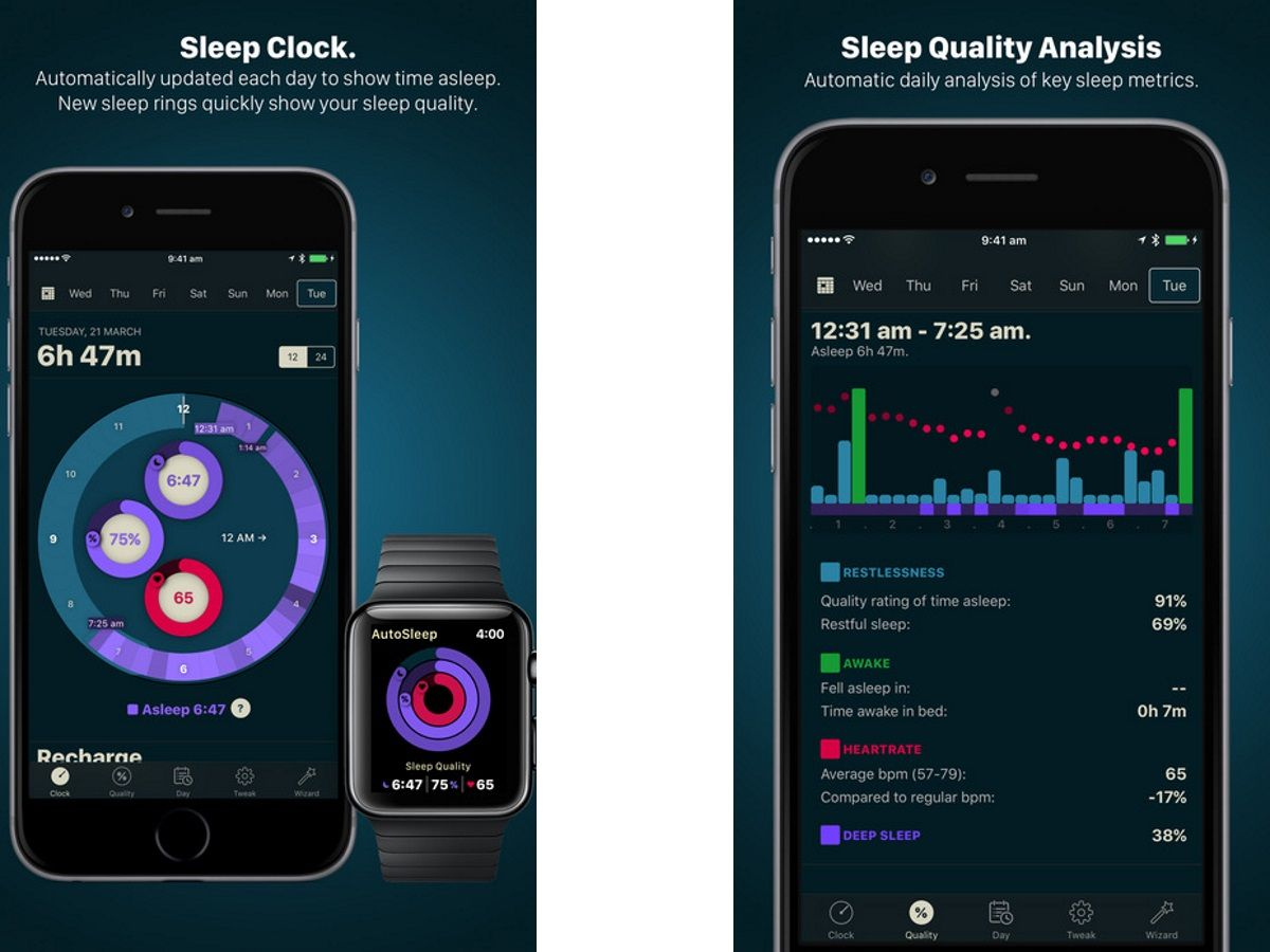 Best Sleep Apps 2018 - Sleep Trackers, Bedtime Reminders
