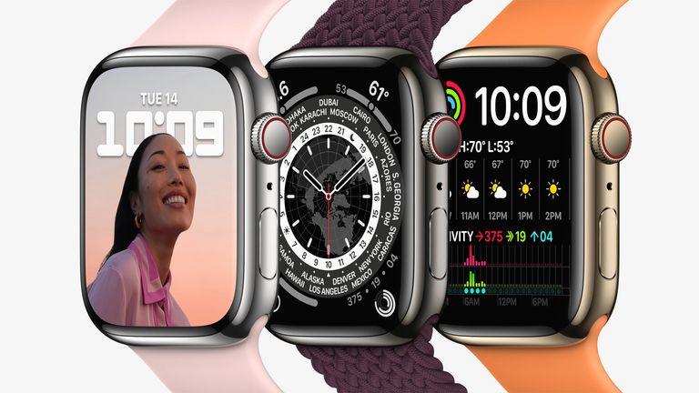 Apple Watch Series 7 line-up