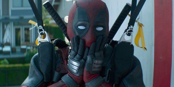 Deadpool watching the X-Force die