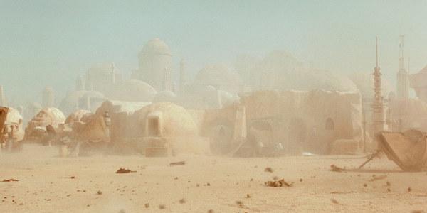 Star Wars Tatooine city