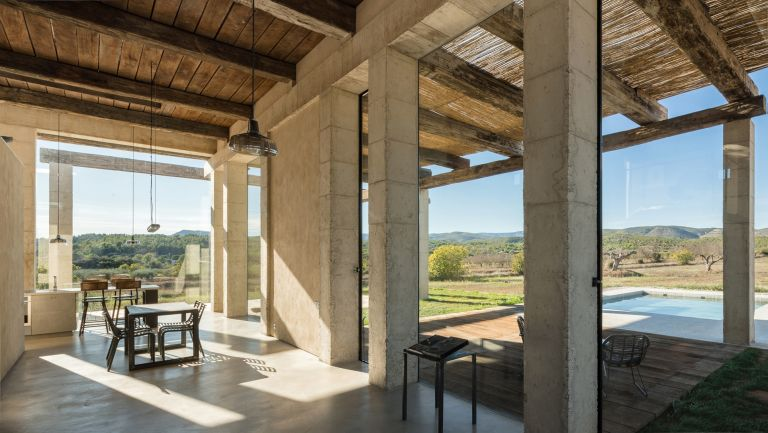 Spronken House open-plan living space