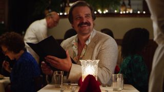 David Harbour's Hopper in Stranger Things season 4