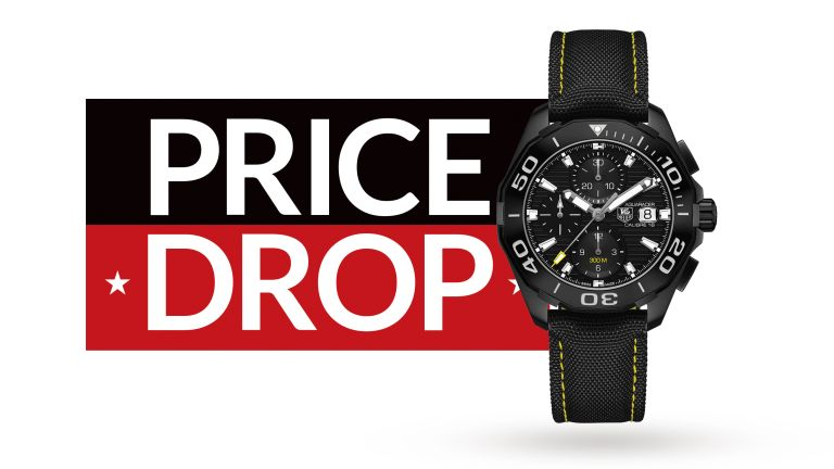 Save a tasty £1000 on this stylish chronograph from TAG Heuer