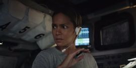 Halle Berry's Moonfall Trailer Has The Moon Trying To Destroy The Earth, Because Roland Emmerich
