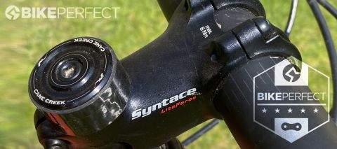 Syntace LiteForce stem fitted to mountain bike handlebar