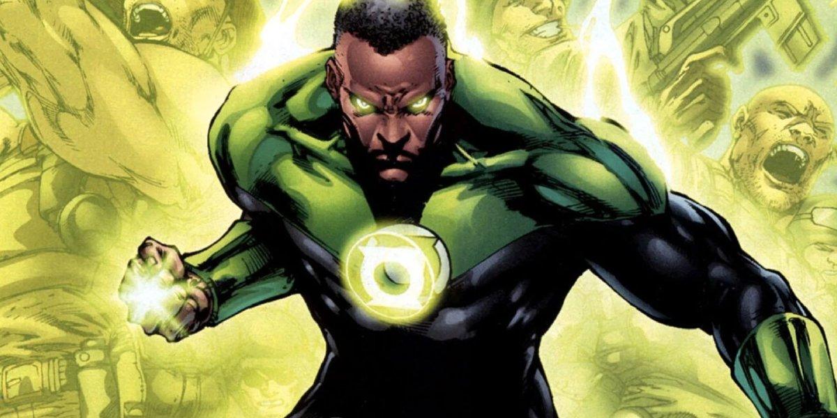 John Stewart is the Green Lantern