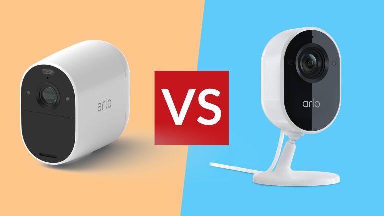 Arlo Essential Spotlight Camera vs Arlo Essential Indoor Camera