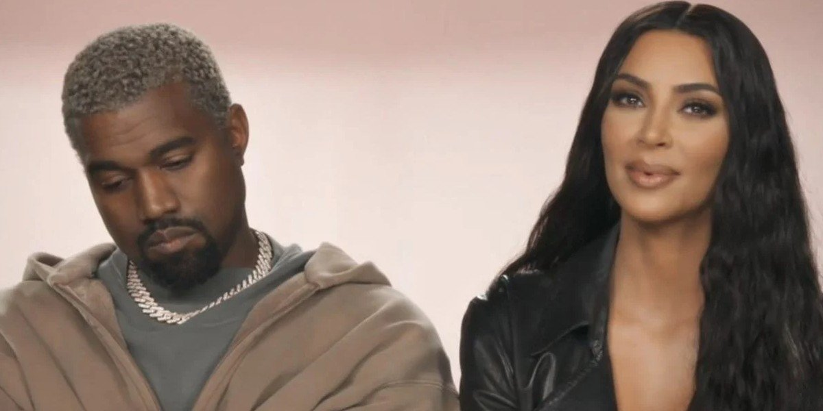 Kanye West and Kim Kardashian on Keeping Up with the Kardashians