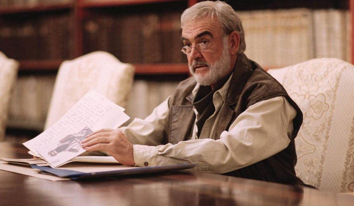 The League Of Extraordinary Gentlemen Sean Connery