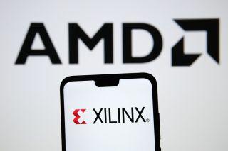 AMD and Xilinx logos