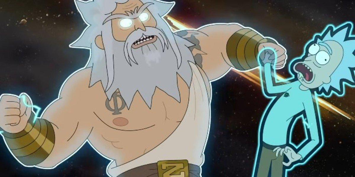 Zeus in Rick & Morty