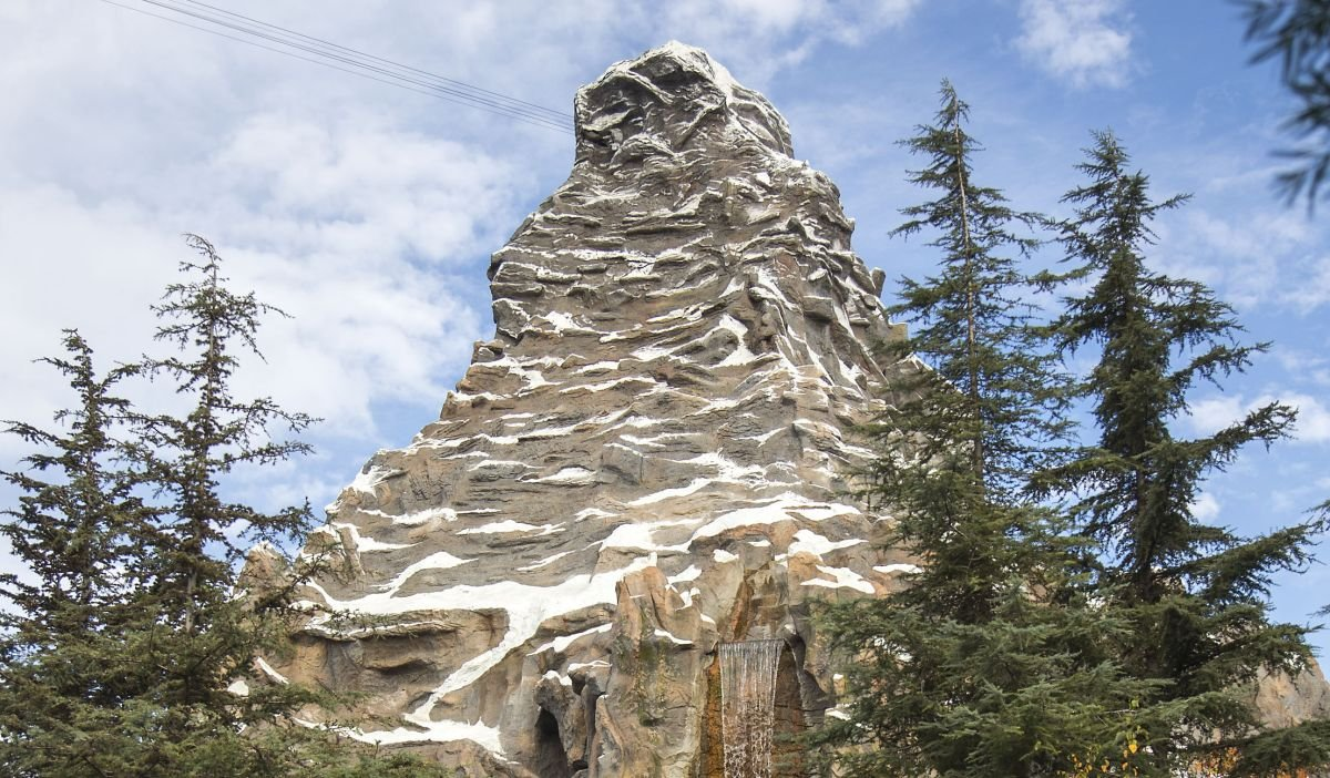 The Matterhorn at Disneyland