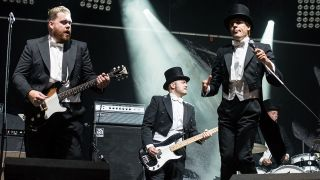 The Hives at Reading Festival 2012