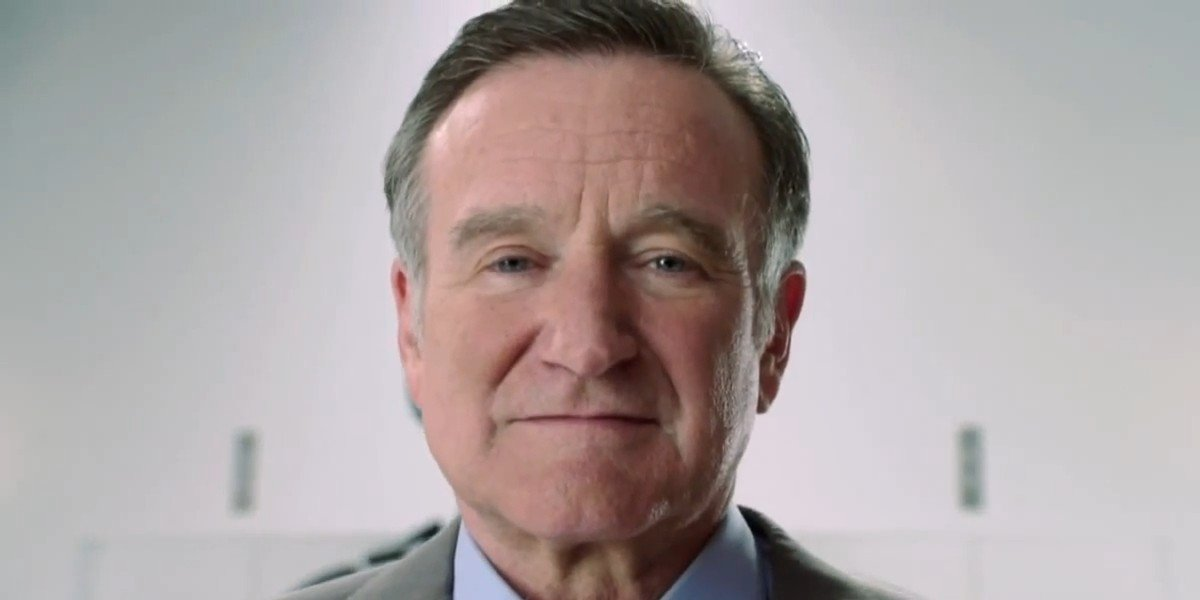 Robin Williams in the trailer for The Crazy Ones