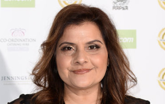 Former EastEnders star Nina Wadia
