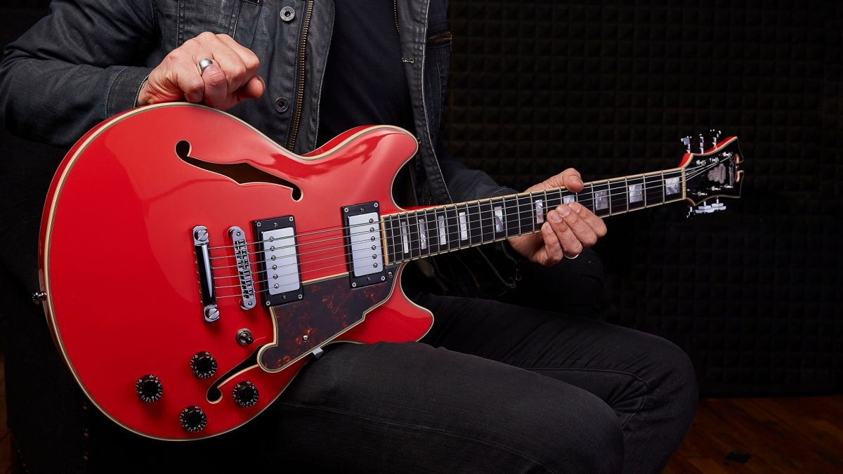 NAMM 2020: D'Angelico debuts the new and compact semi-hollow Mini DC