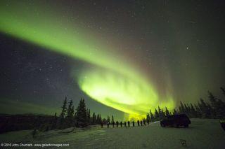 Aurora Borealis by John Chumack