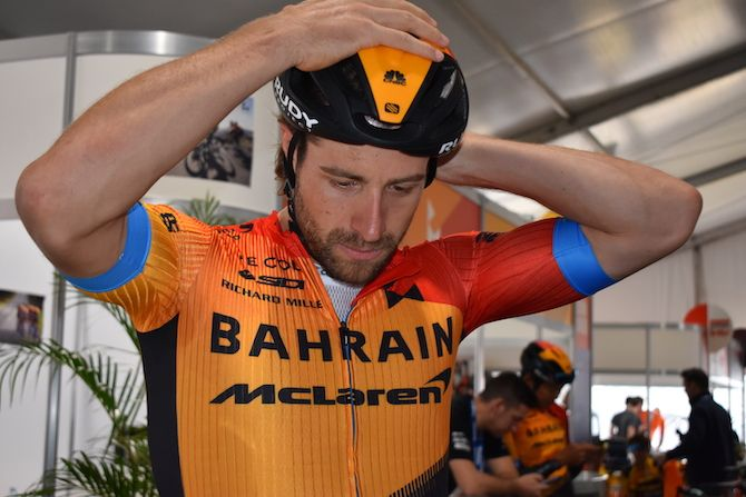 Haller happy to start new adventure with Bahrain McLaren at Tour Down Under