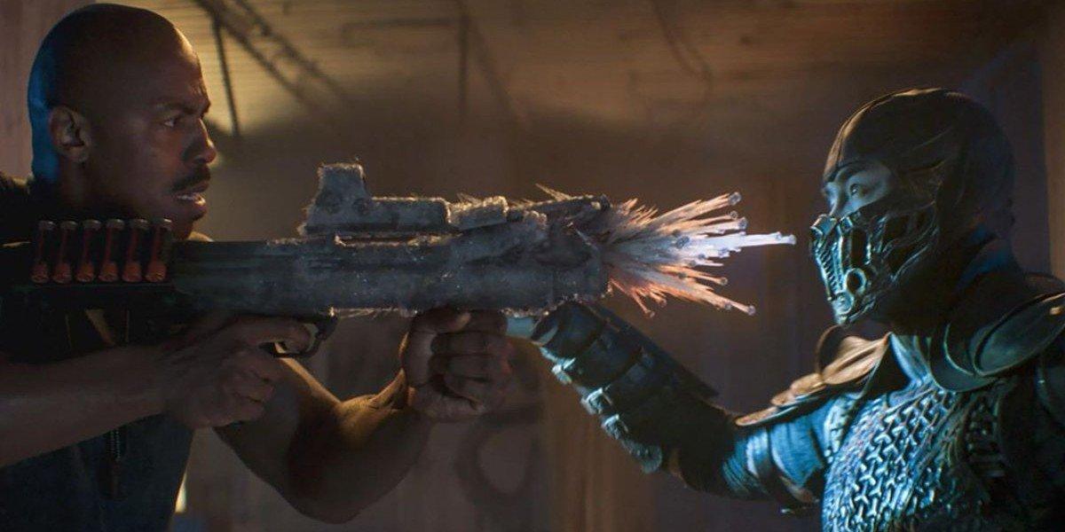 Jax and Sub-Zero in Mortal Kombat (2021)