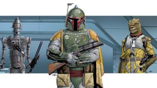 John Cassady was there when Star Wars comic books returned to Marvel. He returns for War of the Bounty Hunters crossover