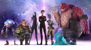"""The """"Star Trek: Prodigy"""" cast and characters for the new animated series on Paramount+ and Nickelodeon."""