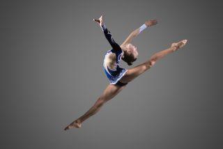 woman gymnast