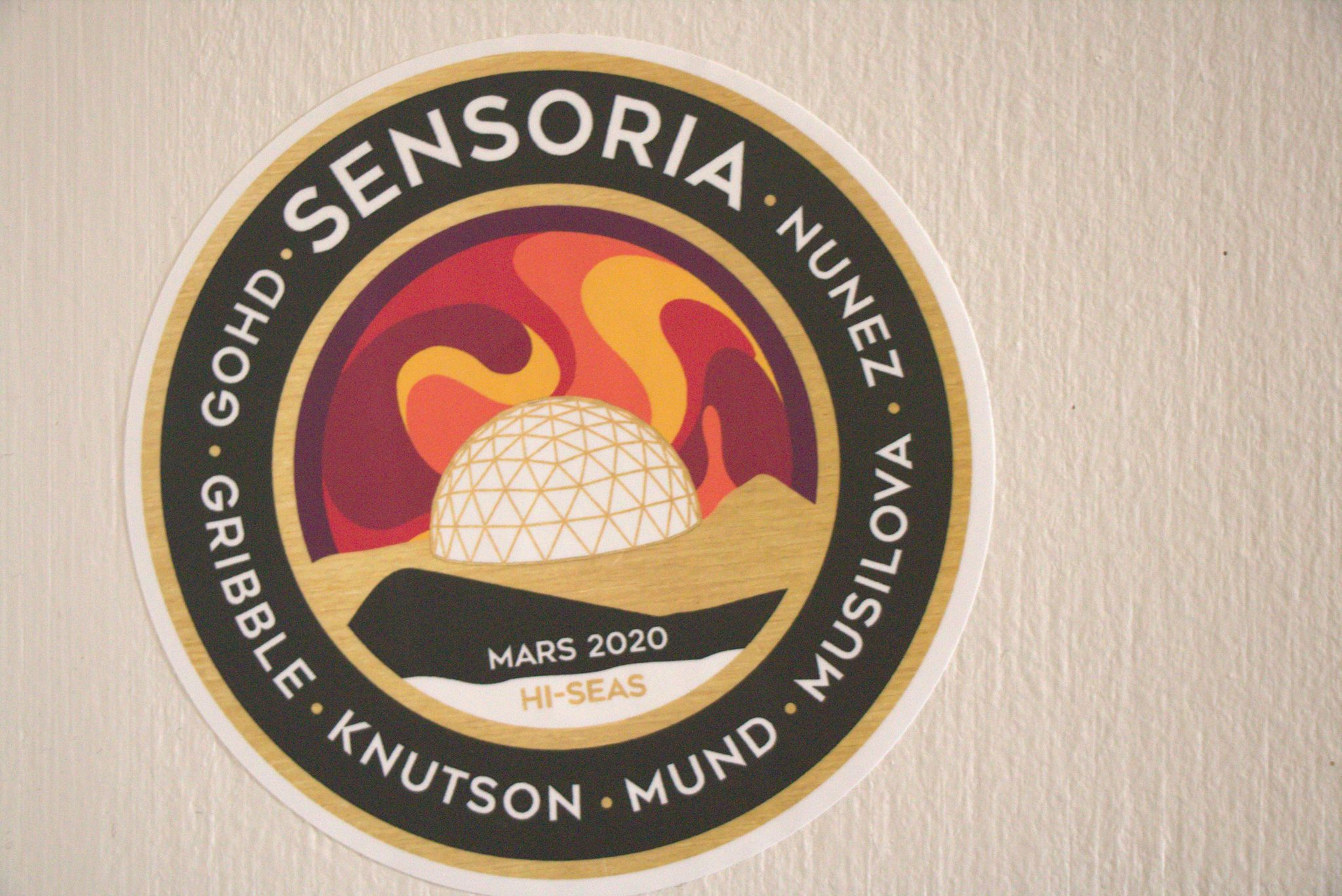 Day 2 (Sol 2) of the Sensoria 2 Mars simulation mission at the HI-SEAS habitat in Hawaii.