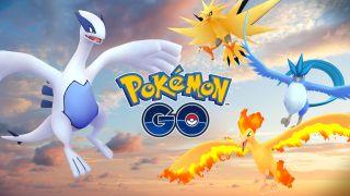 Pokemon Go Legendaries - Moltres, Zapdos, Articuno, Luigi