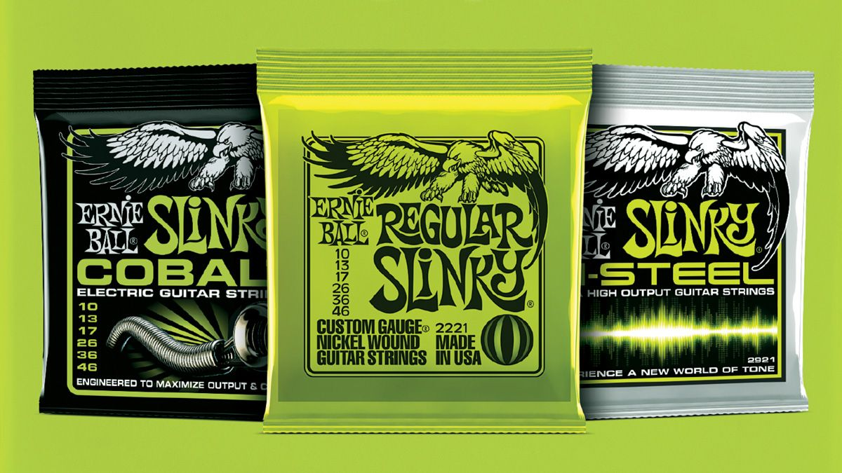 Discover the electric guitar strings that are right for you, with Ernie Ball