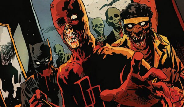 Marvel Zombies Daredevil Luke Cage Black Panther
