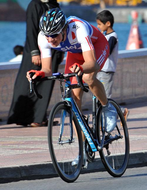 Edvald Boasson Hagen, Tour of Oman 2010, stage 6 ITT