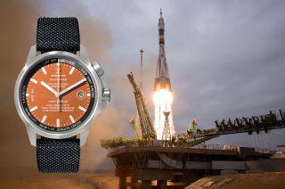 soyuz rocket metal watches werenbach