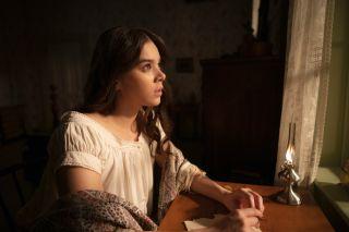 Hailee Steinfeld as Emily Dickinson in Season 2 of Dickinson.