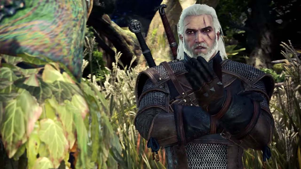The Geralt Monster Hunter Collaboration Will Feature A Familiar