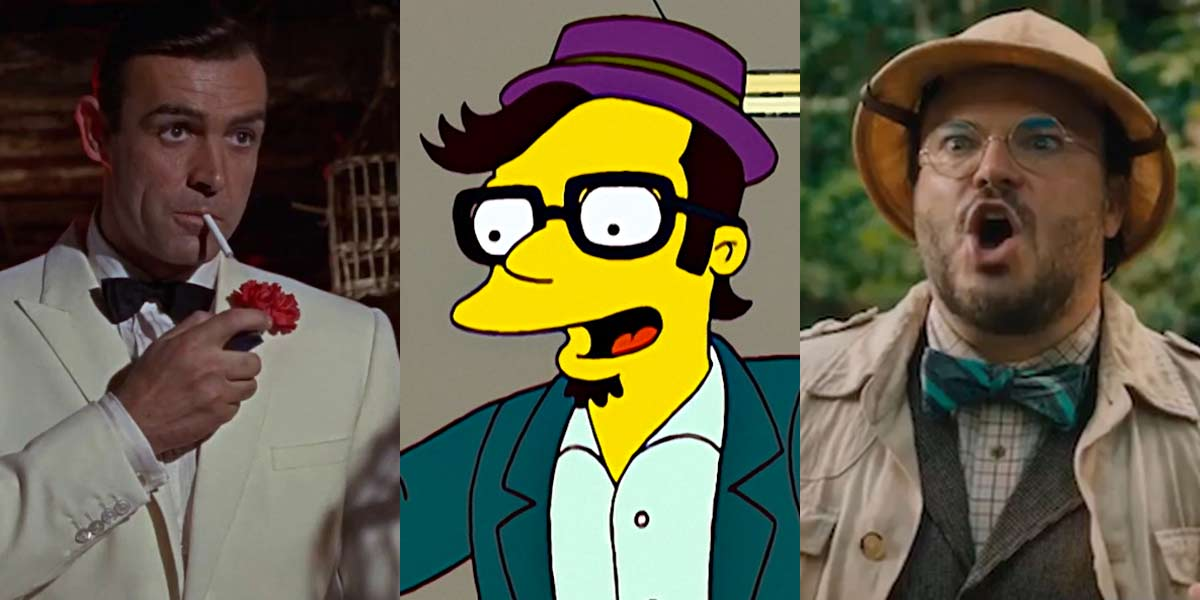 That time Jack Black starred in The Simpsons and tried to do a Bond gag.