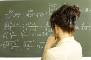 Math produced more anxiety in girls than boys in an English study.