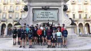 Komoot women's Torino-Nice challenger riders