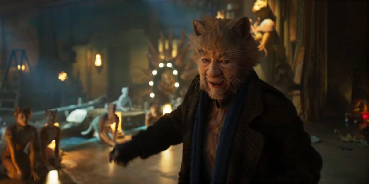 Ian McKellen as Gus the Theatre Cat in Cats