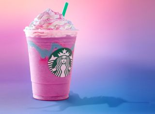 Starbucks' Unicorn Frappuccino