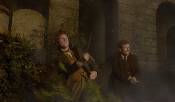 Newt and Theseus in Fantastic Beasts: The Crimes of Grindelwald