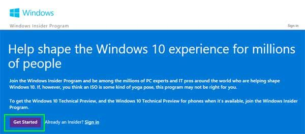 How to Download and Install Windows 10 Preview | Tom's Guide