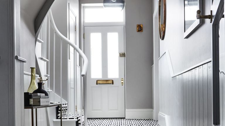 how to lighten a hallway real homes