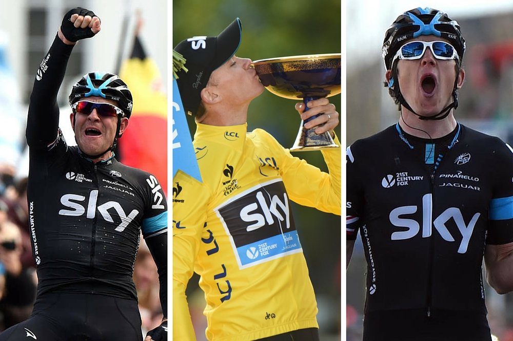 c20555fb9 Nine of the best moments in the Rapha Team Sky partnership - Cycling Weekly