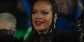 Rihanna Shares New Look At Mullet And It's Billie Eilish Green