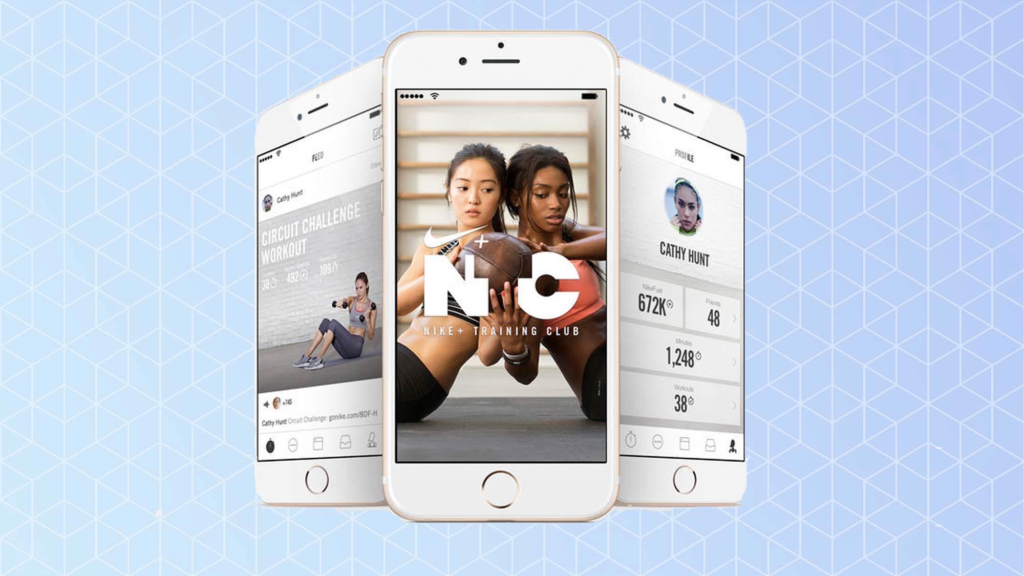 Application Nike Training Club NTC