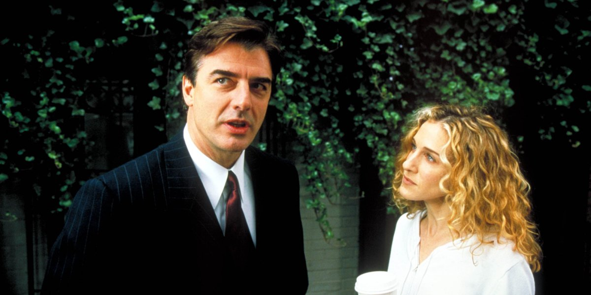 Mr. Big with Carrie in Sex and the City.