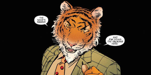 Talking tiger comic Shazam