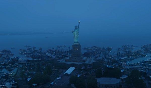 Endgame's Liberty Island