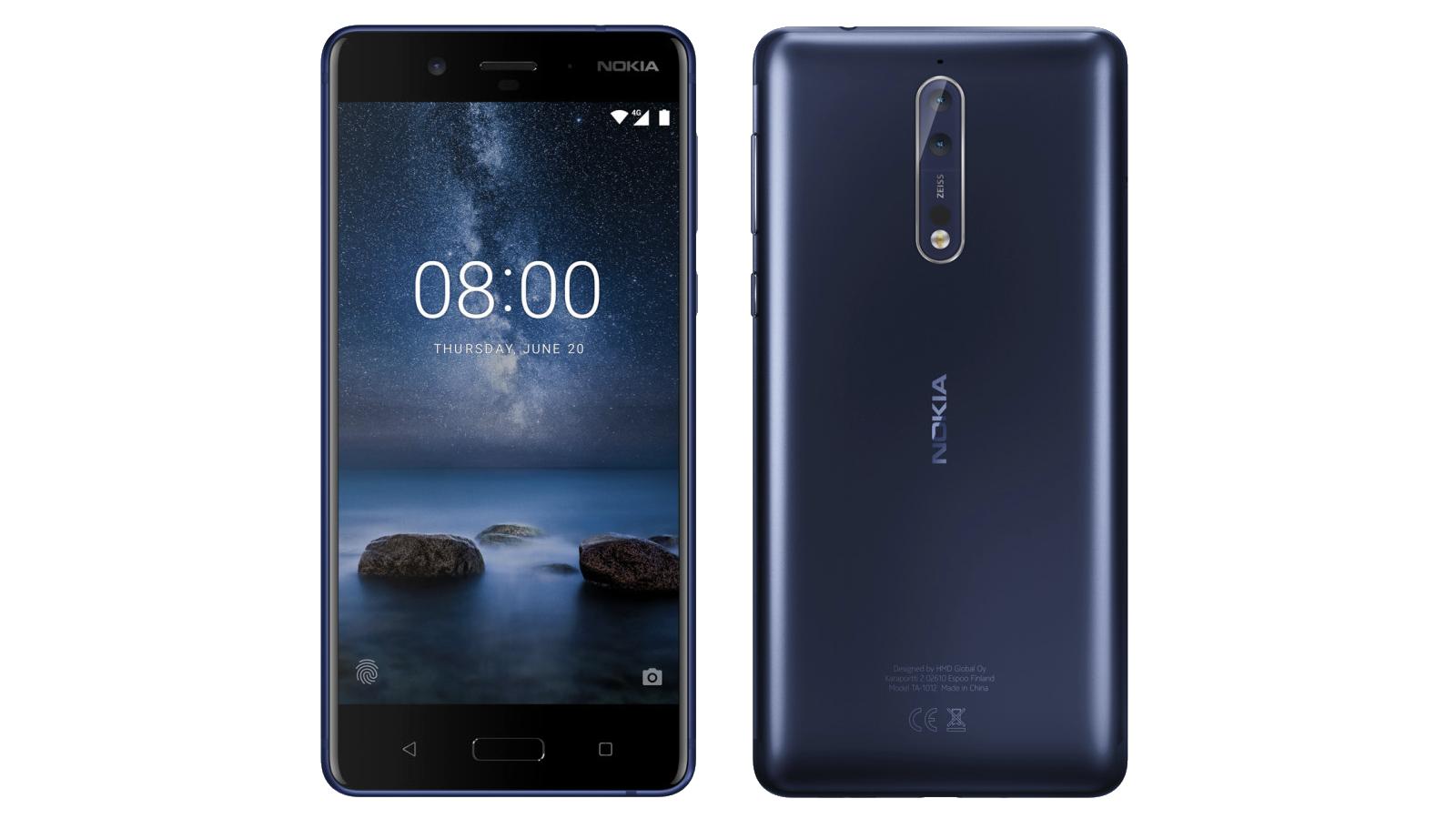 Freshly leaked Nokia 8 press renders reveal dual-camera setup